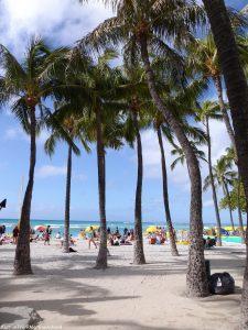 quoi faire à Hawaï Oahu waikiki beach