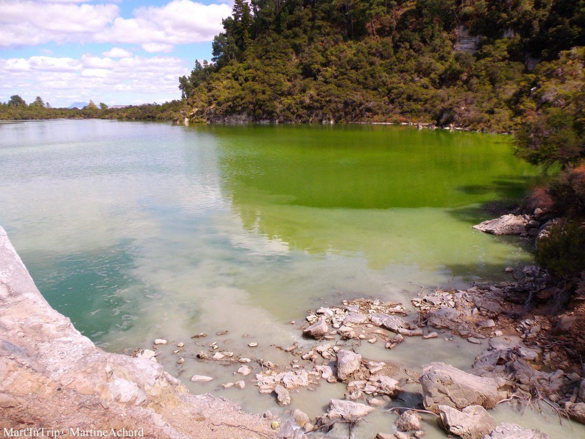 lac de couleur nouvelle zélande