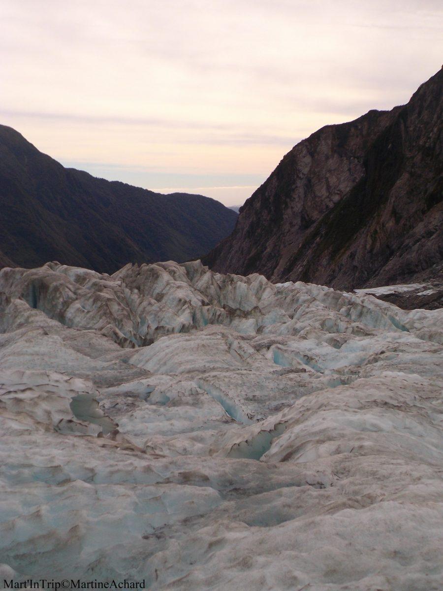 rando sur glacier nouvelle zélande