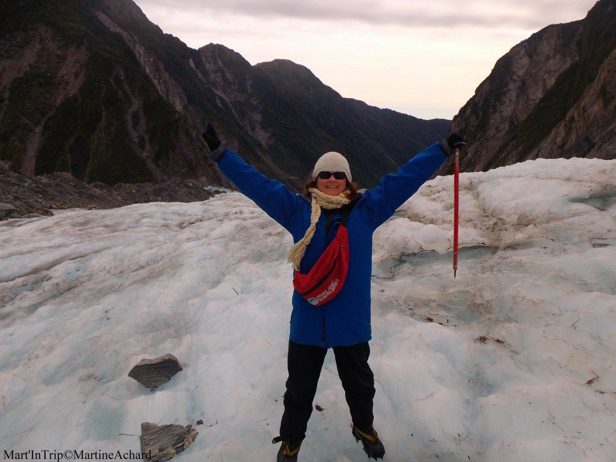 équipement rando sur glacier