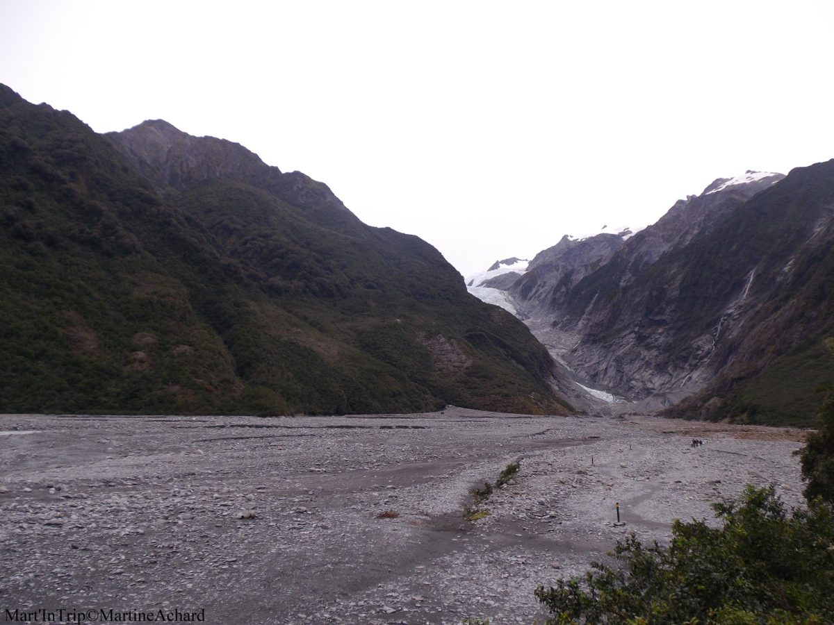 marche vers le glacier