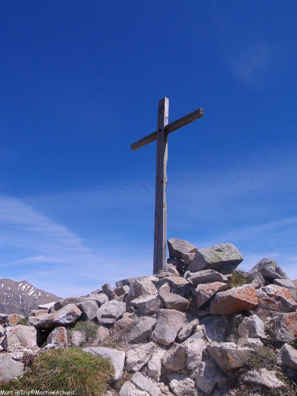 randonnée hautes-alpes ancelle croix saint philippe