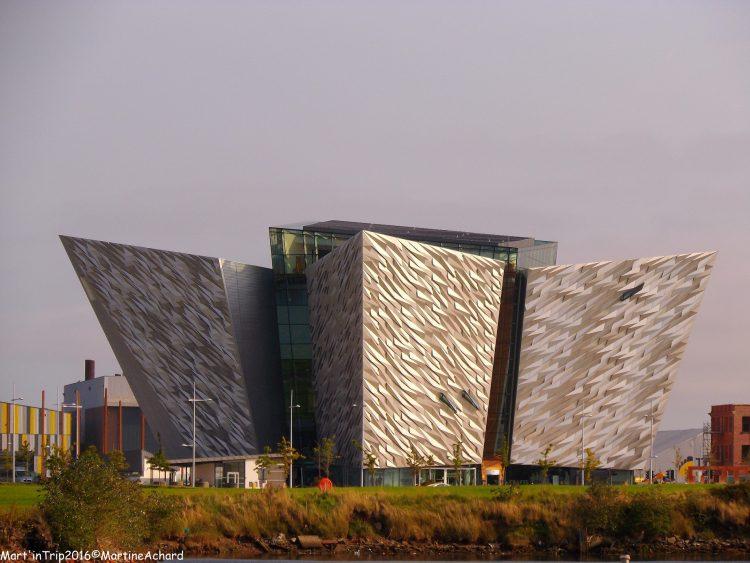 belfast irlande du nord titanic museum