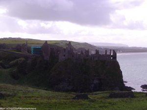 dunluce castle chateau irlande du nord