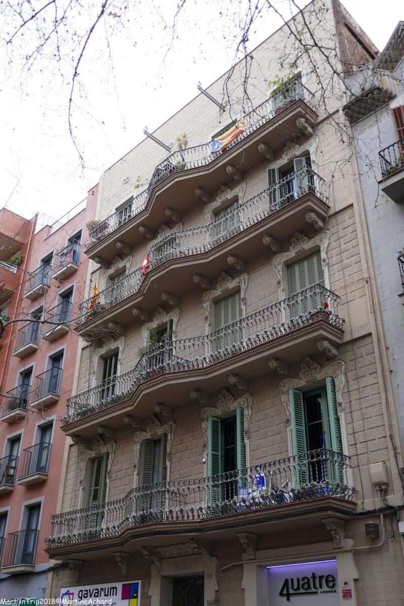 façade barcelone