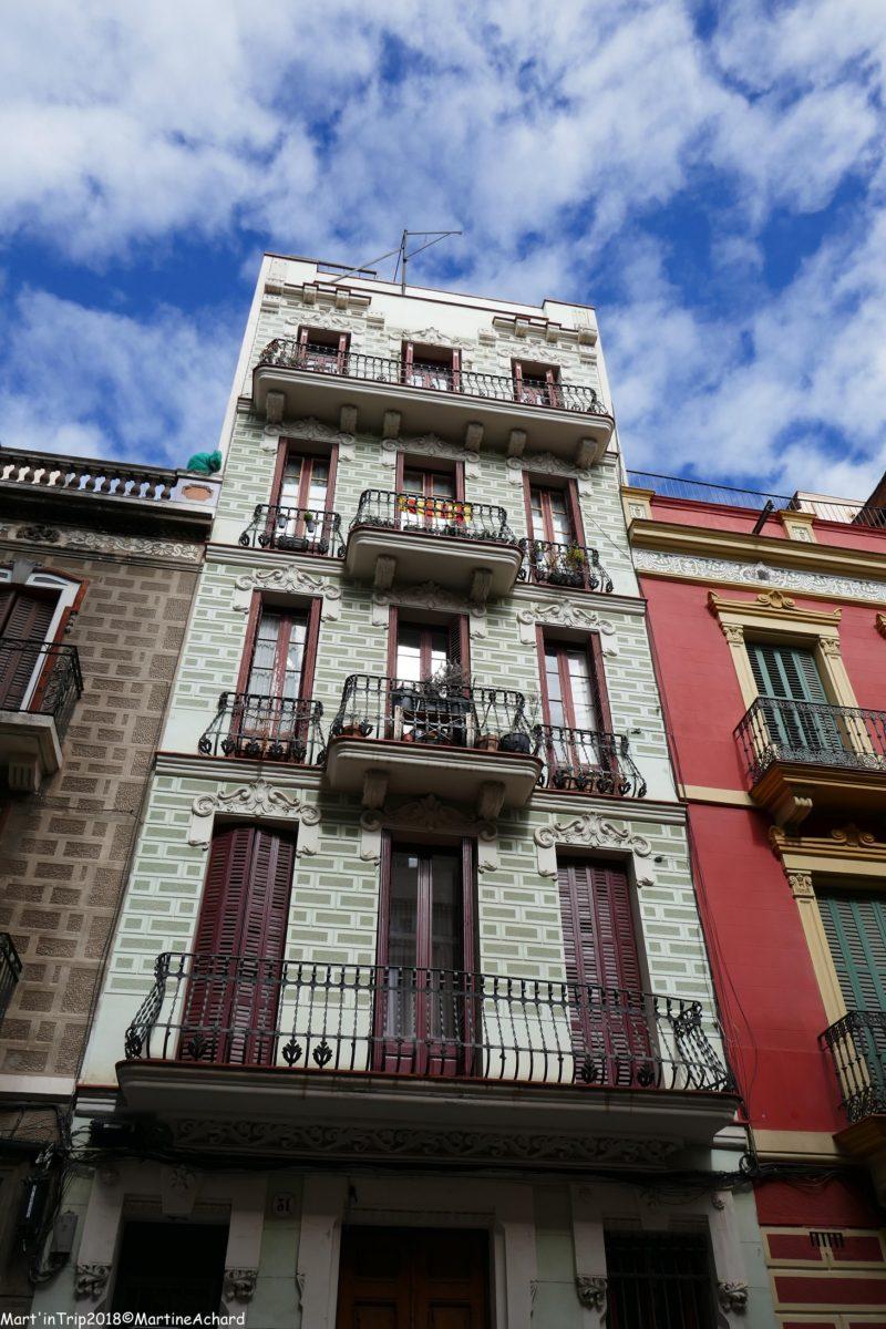 façades barcelone