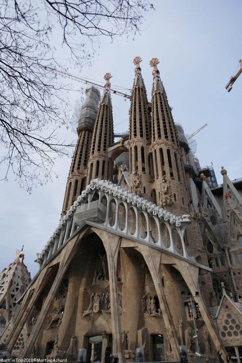 monuments gaudi barcelone