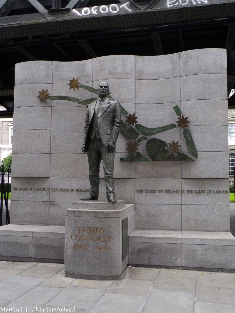 james connolly statute