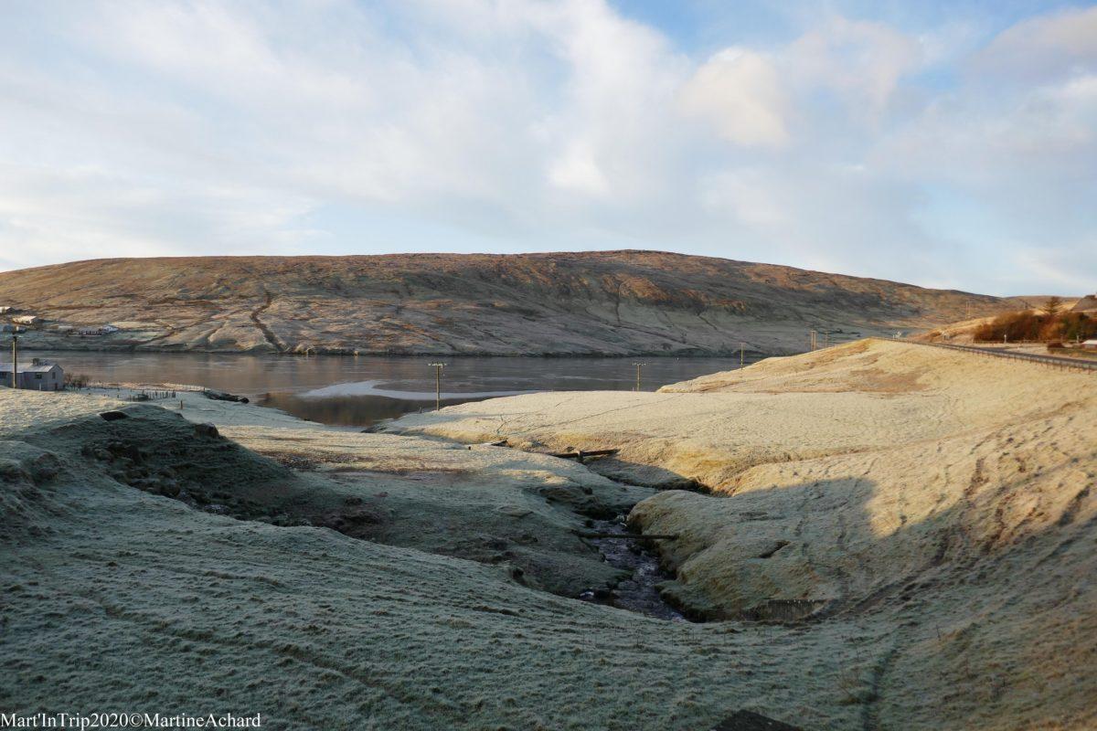 aube écosse shetlands