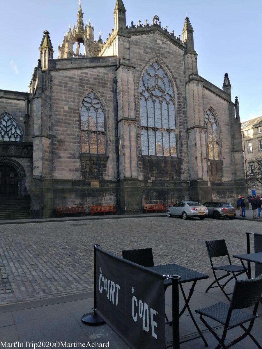 cathédrale édimbourg